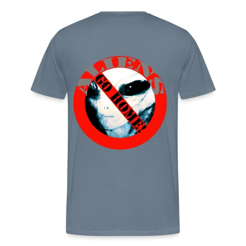 Aliens Go Home Tee shirt - T-shirt Premium Homme