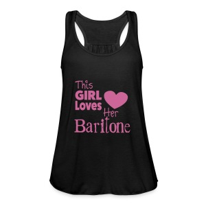 This Girl Loves Her Baritone, Tank Top - Women's Tank Top by Bella