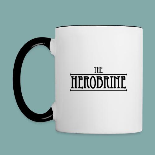 The Herobrine - Mug #2 - Contrasting Mug