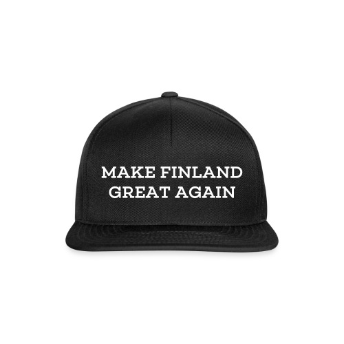 Make Finland Great Again-lippis (XD edition) - Snapback Cap