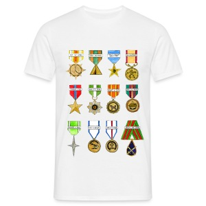 Shiny Shiny Medals T-Shirt - Men's T-Shirt