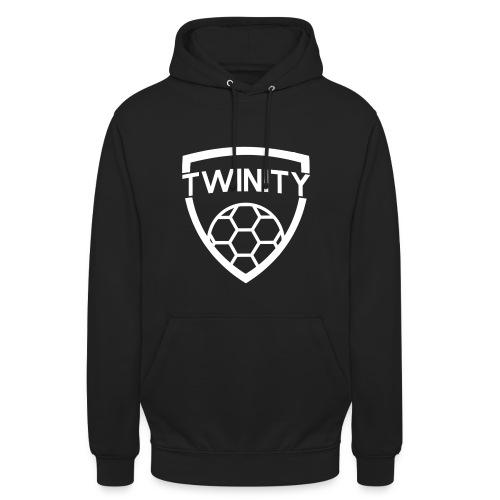 Zwarte Twinity Hoodie - Unisex Hoodie