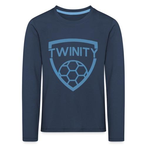 KIDS Blauwe Twinity Longsleeve - Kids' Premium Longsleeve Shirt
