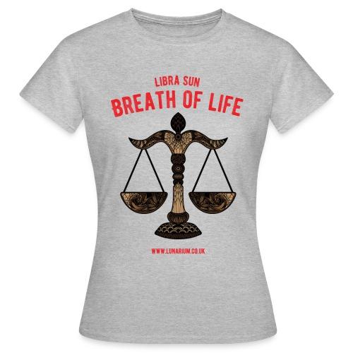 Libra Sun Women's T-Shirt - Women's T-Shirt