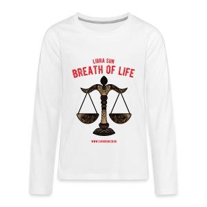 Libra Sun Teenagers' Premium Longsleeve Shirt - Teenagers' Premium Longsleeve Shirt