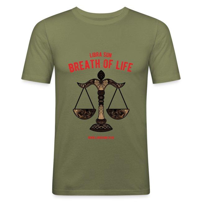 Libra Sun Men's Slim Fit T-Shirt