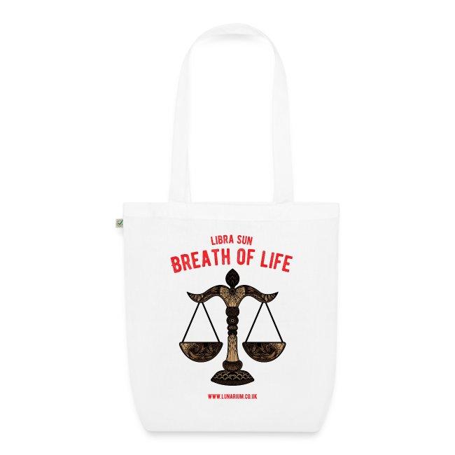 Libra Sun EarthPositive Tote Bag