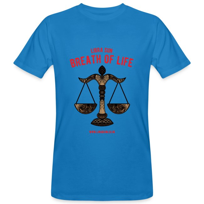 Libra Sun Men's Organic T-shirt