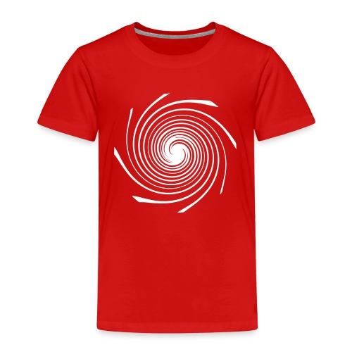 Kids T-Shirt - Spirale weiß - Kinder Premium T-Shirt