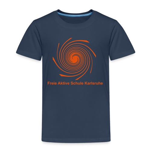 Kids T-Shirt - Spirale orange - Kinder Premium T-Shirt