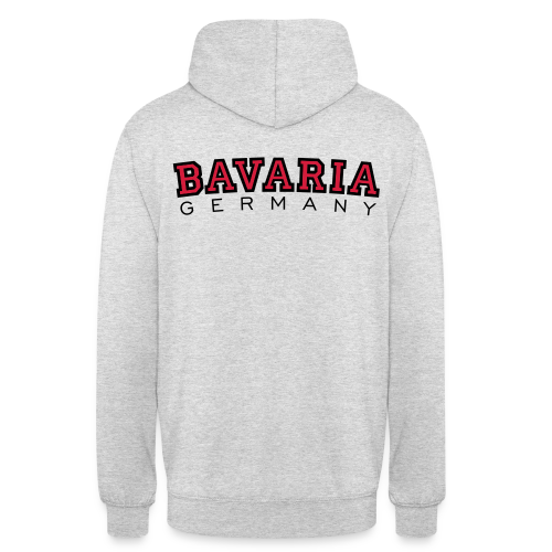 Bavaria Germany (Schwarz/Rot) Bayern Hoodie - Unisex Hoodie