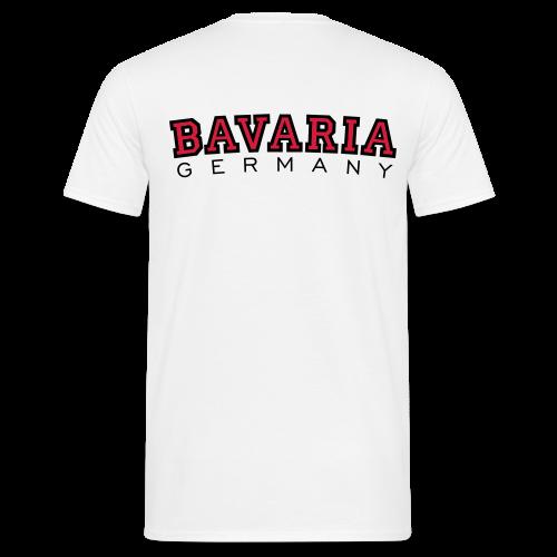 Bavaria Germany (Schwarz/Rot) Bayern T-Shirt - Männer T-Shirt