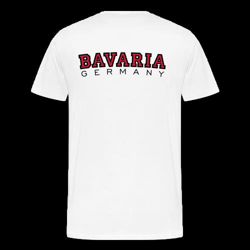 Bavaria Germany (Schwarz/Rot) S-5XL Bayern T-Shirt - Männer Premium T-Shirt