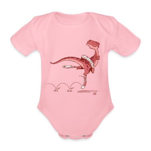 Tanz-Dino - Baby Bio-Kurzarm-Body