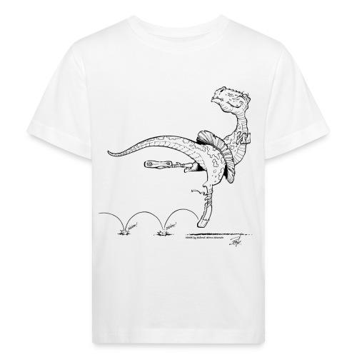 Tanz-Dino - Kinder Bio-T-Shirt