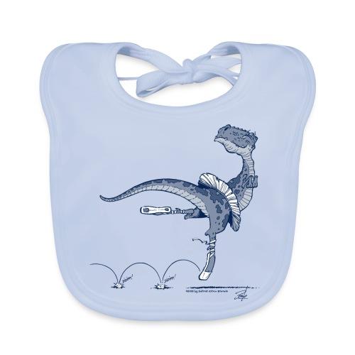 Tanz-Dino - Baby Bio-Lätzchen