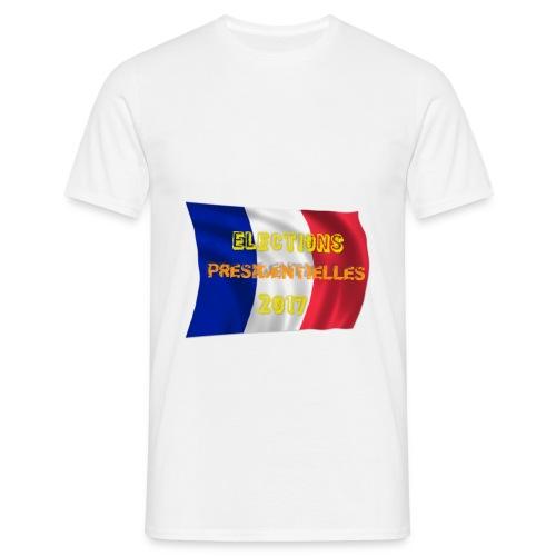 T-shirt  élections 2017 - T-shirt Homme