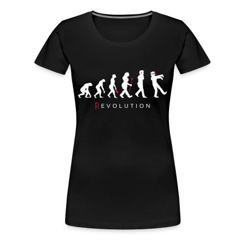 VRzombies (R)EVOLUTION Shirt (Frauen) - Frauen Premium T-Shirt