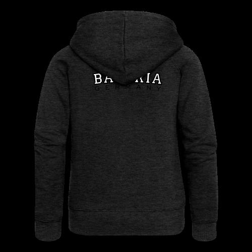 Bavaria Germany (Schwarz/Weiß) Kapuzenjacke - Frauen Premium Kapuzenjacke