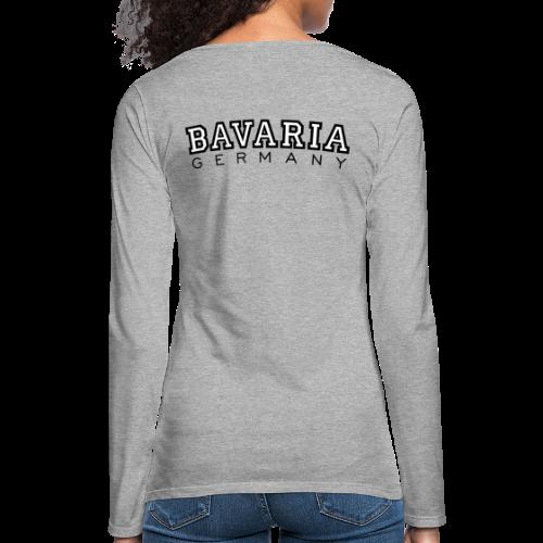 Bavaria Germany (Schwarz/Weiß) Langarmshirt - Frauen Premium Langarmshirt