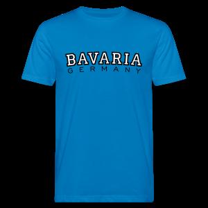 Bavaria Germany (Schwarz/Weiß) Bio T-Shirt - Männer Bio-T-Shirt