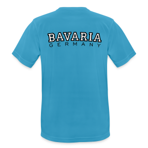 Bavaria Germany (Schwarz/Weiß) Funktionsshirt - Männer T-Shirt atmungsaktiv