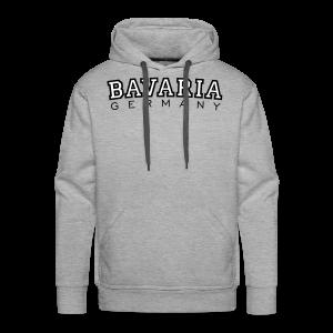 Bavaria Germany (Schwarz/Weiß) Hoodie - Männer Premium Hoodie