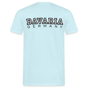 Bavaria Germany (Schwarz/Weiß) T-Shirt - Männer T-Shirt