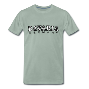 Bavaria Germany (Schwarz/Weiß) S-5XL T-Shirt - Männer Premium T-Shirt