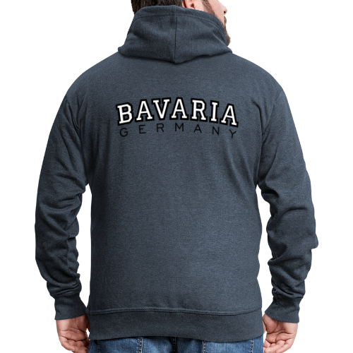 Bavaria Germany (Schwarz/Weiß) Kapuzenjacke - Männer Premium Kapuzenjacke