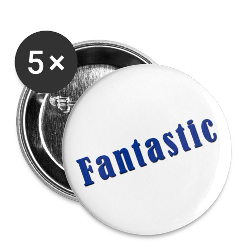 Fantastic Pin - Buttons small 1''/25 mm (5-pack)