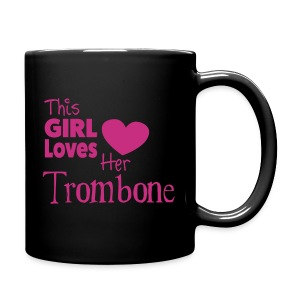 This Girl Loves Her Tombone,  Mug - Full Colour Mug