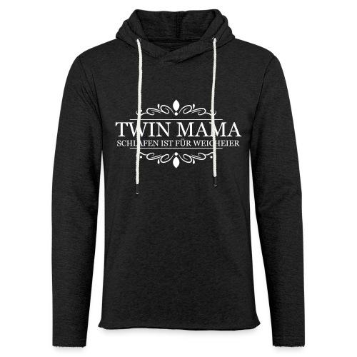 TWIN MAMA - Leichtes Kapuzensweatshirt Unisex