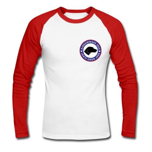Ajokuningas pitkähihainen t-paita - Miesten pitkähihainen baseballpaita