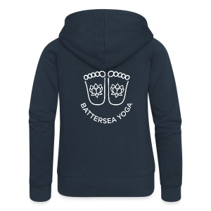 Smiley Feet Women's Zipped Hoodie - Women's Premium Hooded Jacket