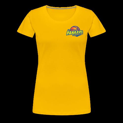 Tee-shirt Premium FEMME - JAUNE - ASP - T-shirt Premium Femme