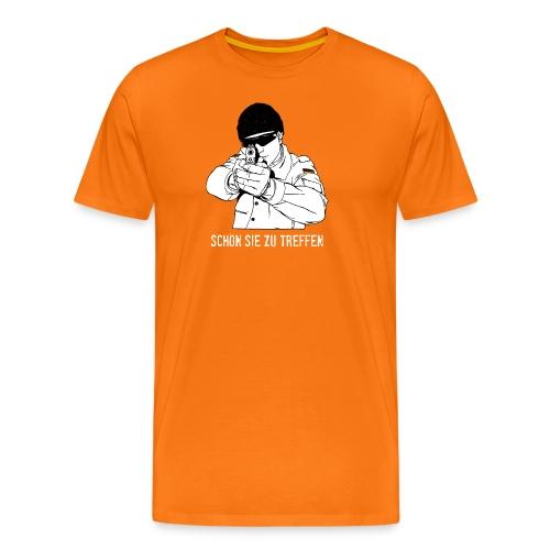 Schön Sie zu treffen - Männer Premium T-Shirt