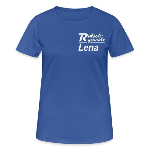 Rutschgranaten-T-Shirt Lena - Frauen T-Shirt atmungsaktiv