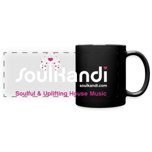 Soul Kandi Panoramic Print Mug White & Pink - Full Color Panoramic Mug
