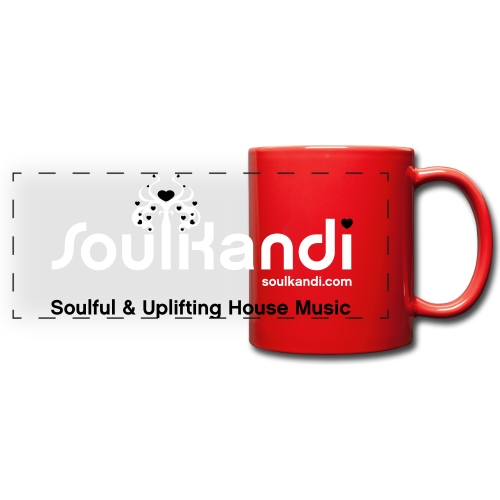 Soul Kandi Panoramic Print Mug White & Black - Full Color Panoramic Mug