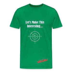 Target T-Shirt - Men's Premium T-Shirt