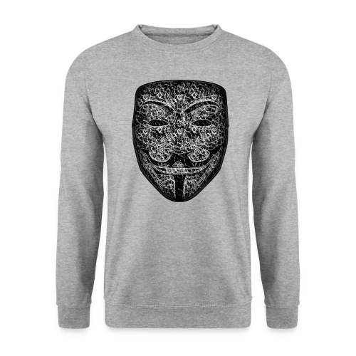 Sweat-shirt Homme Anonymous DarK - Sweat-shirt Homme