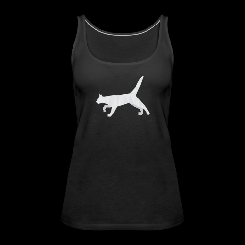 Polygonal Cat - Frauen Premium Tank Top