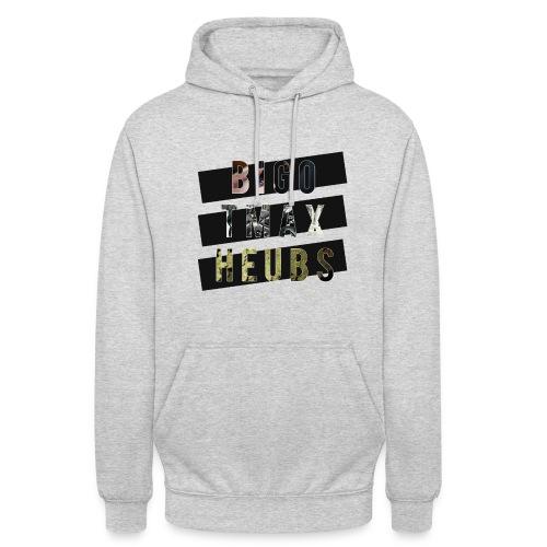 BIGO TMAX & HEUBS - Sweat-shirt à capuche unisexe