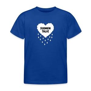 Suomen talvi (lasten) - Lasten t-paita