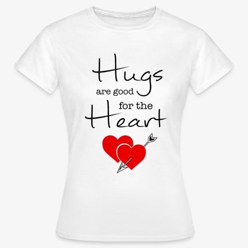 Hugs - Maglietta da donna