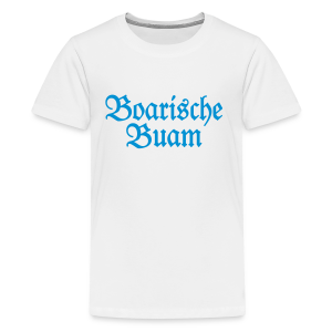 Boarische Buam Bayern Teenager T-Shirt - Teenager Premium T-Shirt