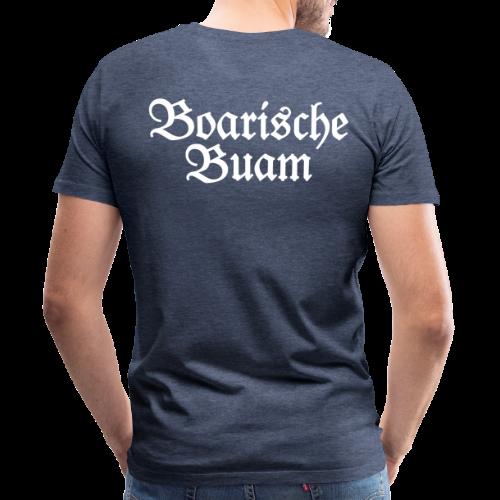 Boarische Buam Bayern S-5XL T-Shirt - Männer Premium T-Shirt