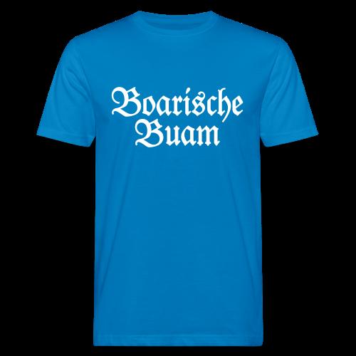 Boarische Buam Bayern Bio T-Shirt - Männer Bio-T-Shirt