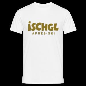 Ischgl Après-Ski Gold T-Shirt - Männer T-Shirt